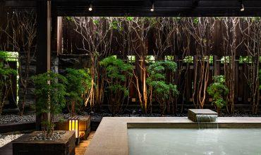 Public hot spring