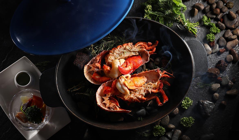岩燒龍蝦套餐